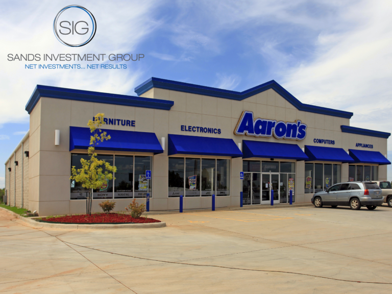 Close of Escrow: Former Aaron's in Mustang, OK