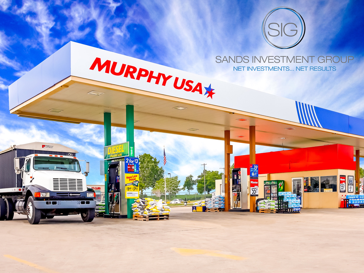 Murphy USA Absolute NNN Ground Lease Convenience Store Dallas Texas