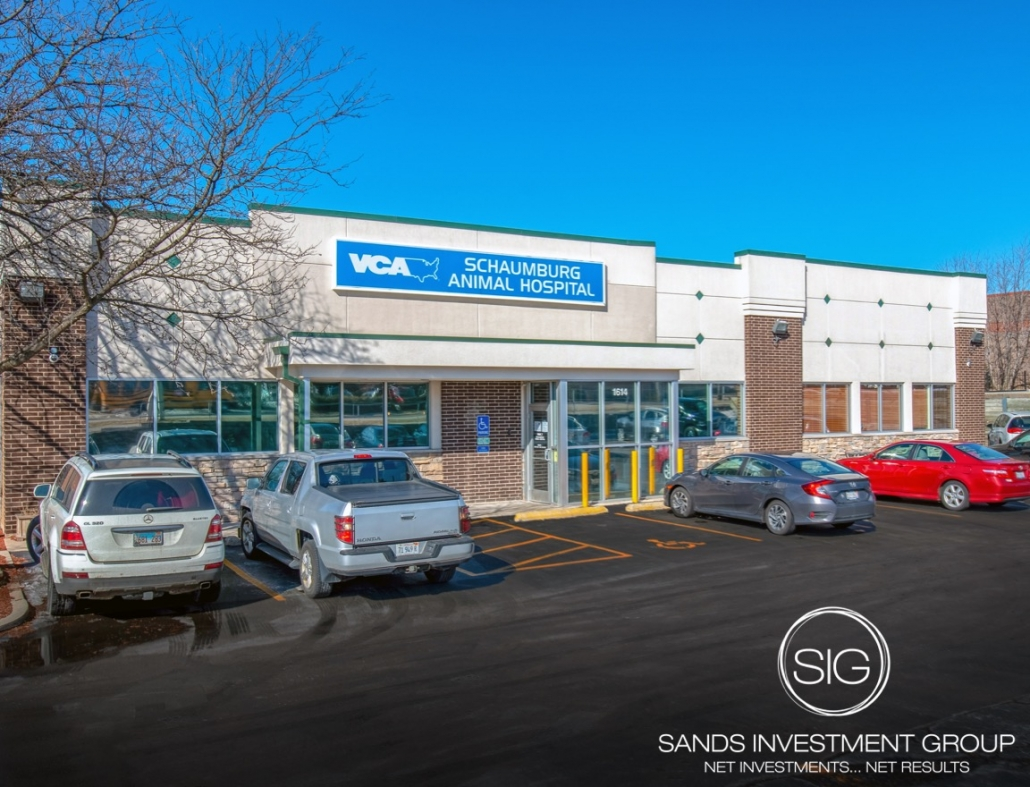 VCA Animal Hospital Absolute Triple Net Asset Medical Illinois
