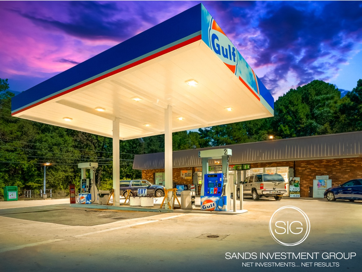 gas station net lease