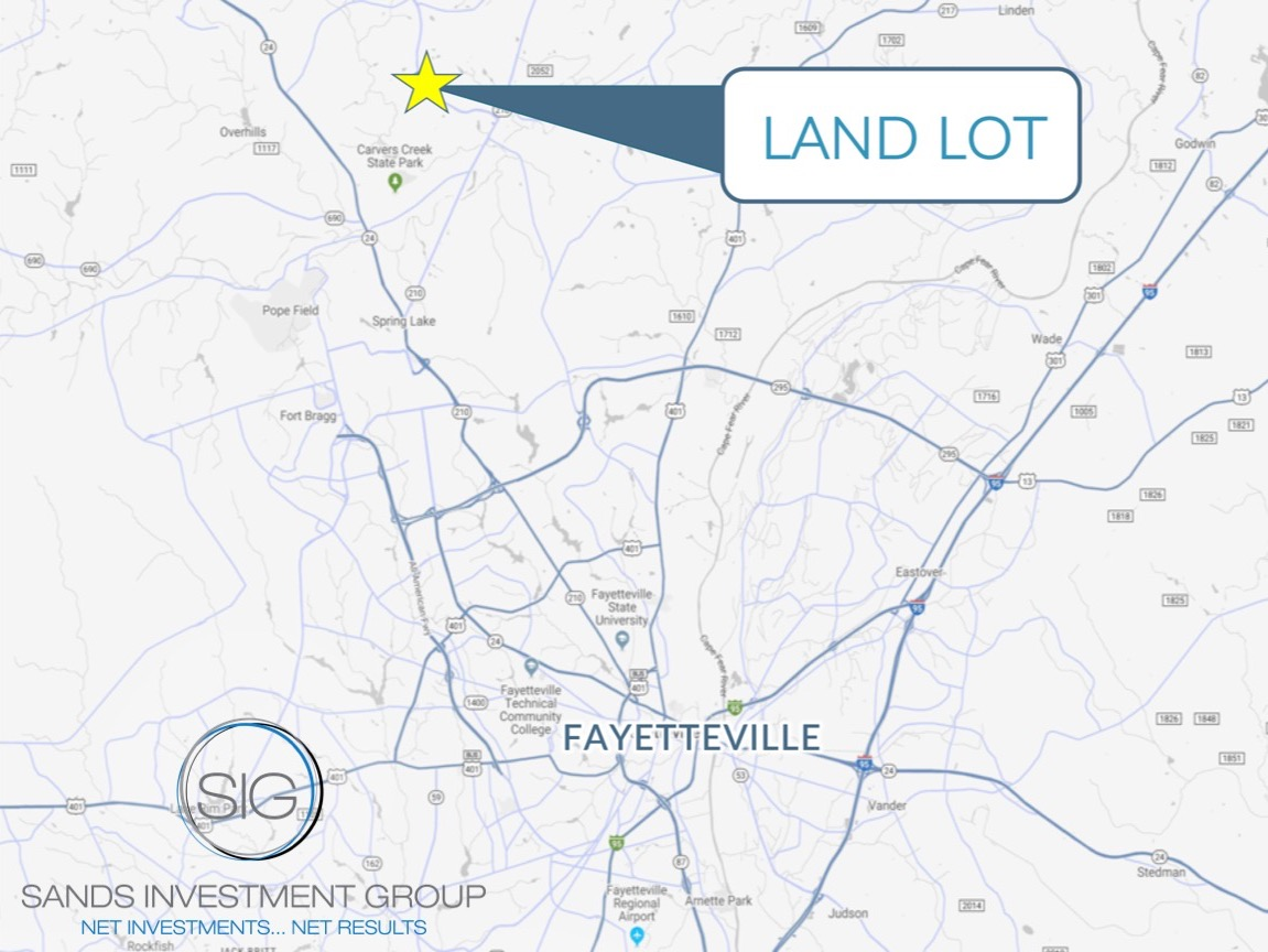 1.55 AC Land Lot | Spring Lake, NC