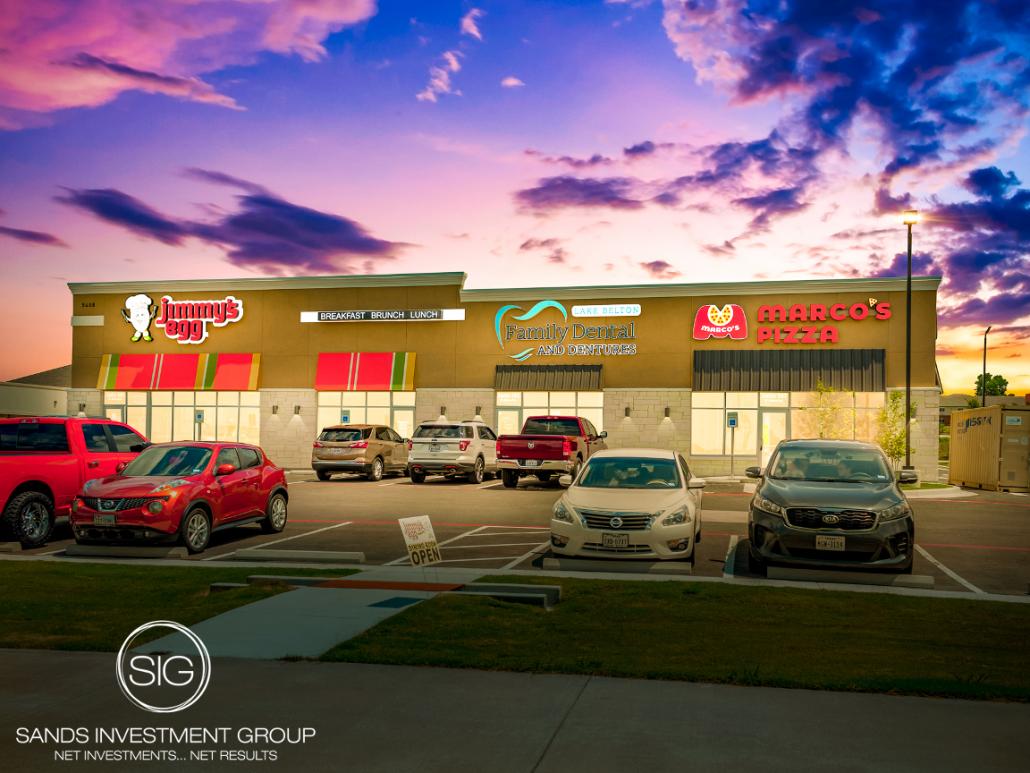 West Adams 3-Tenant Strip Center | Temple, TX