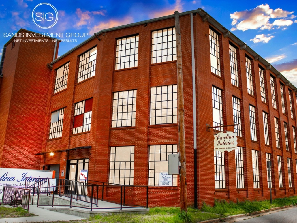 Historic Cannon Mill Mixed-Use Building | Concord, NC