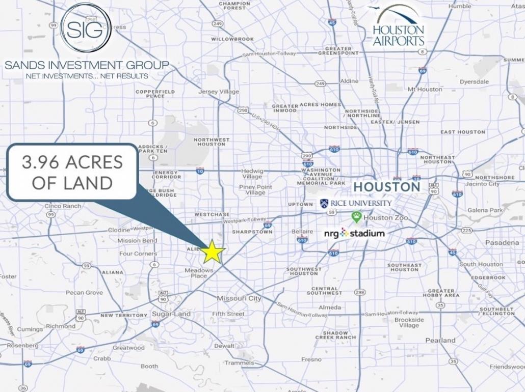 3.96 Acres of Land | Houston, TX
