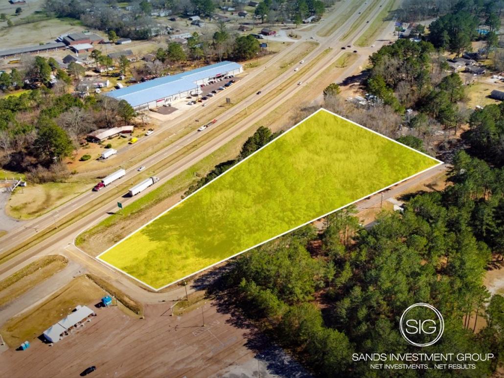 1.35 AC Land Lot | Collins, MS