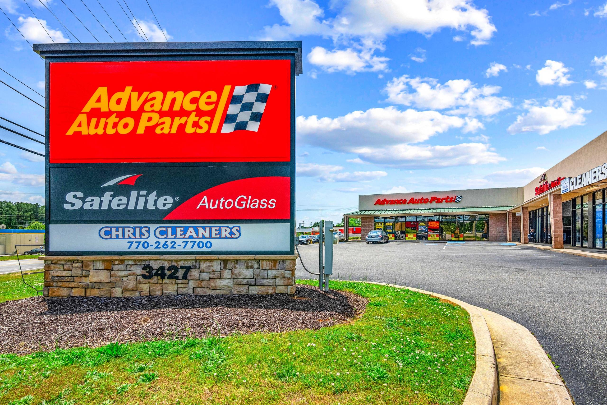 Seller | Advance Auto and Safelite Strip Center's testimonial