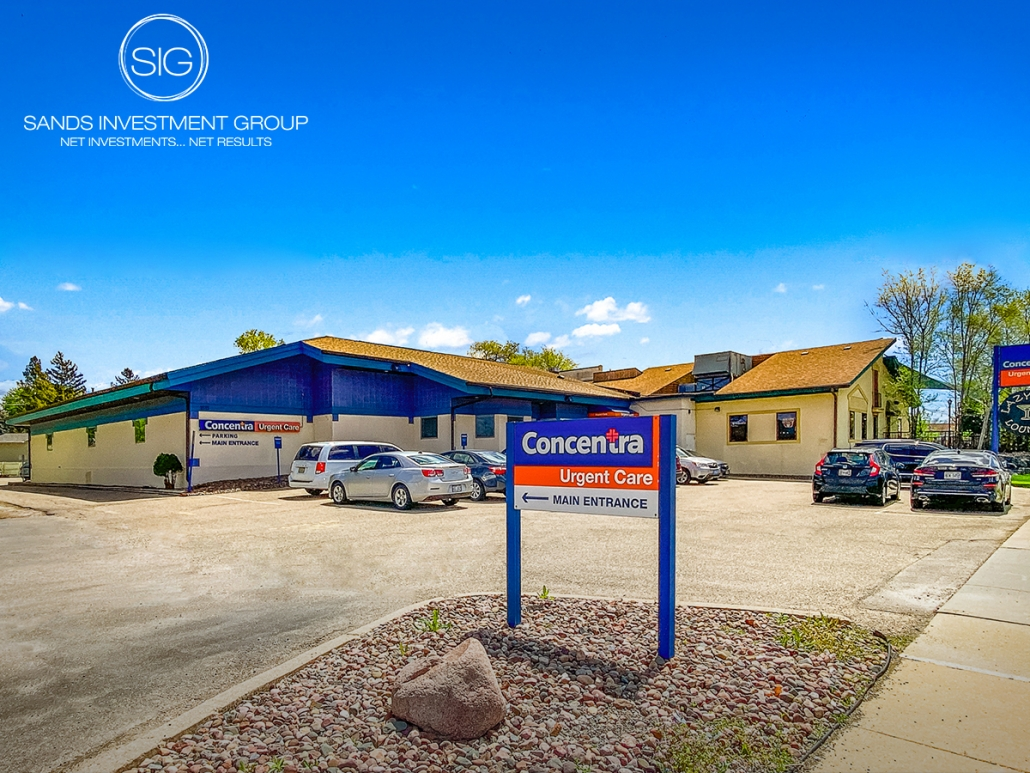 Concentra Urgent Care Anchored Building | Madison, WI
