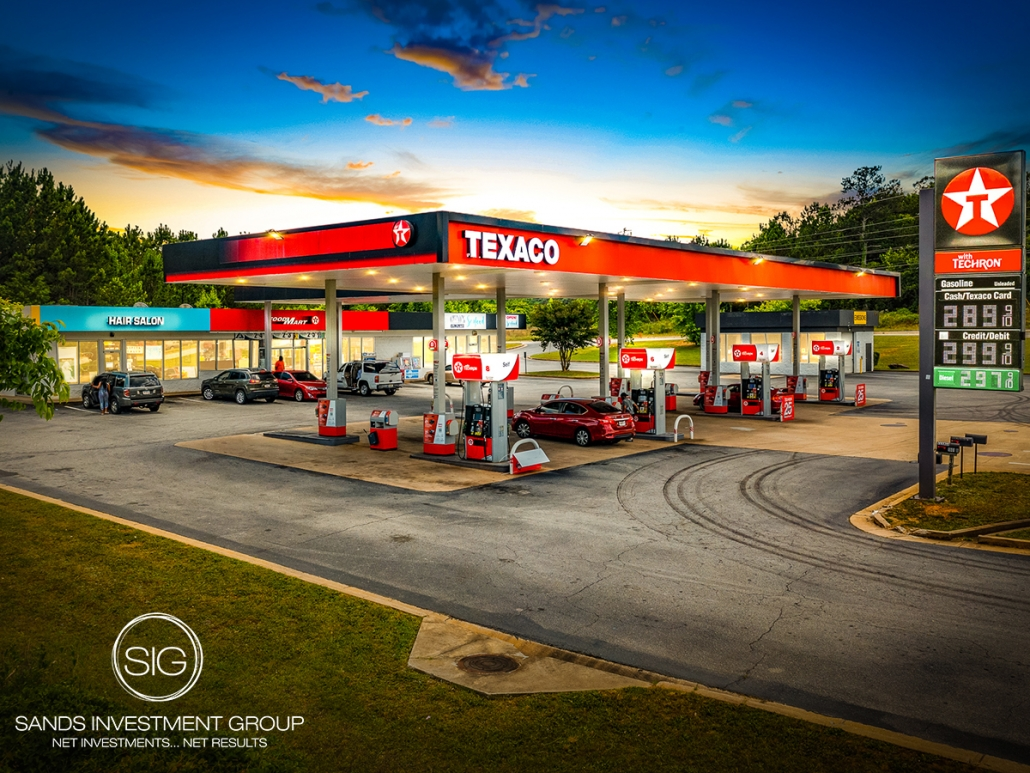 Gas Station Anchored Retail Center | Conyers, GA