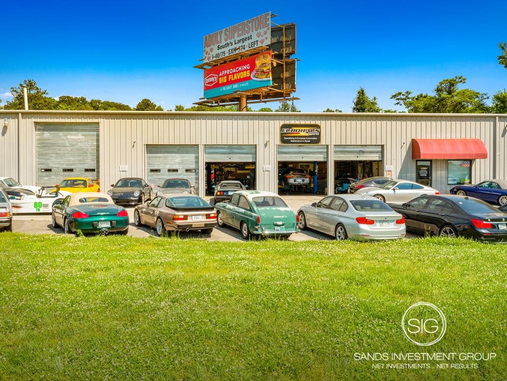 Vacant Auto Repair | Lenoir City, TN