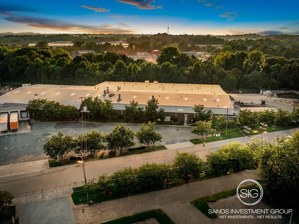 Exchange Street Industrial Sale-Leaseback Warehouse   Charlotte, NC