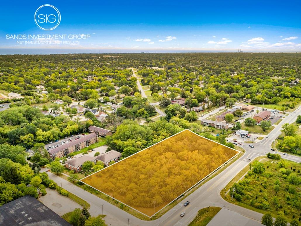 5 Acre Land Parcel   Zion, IL