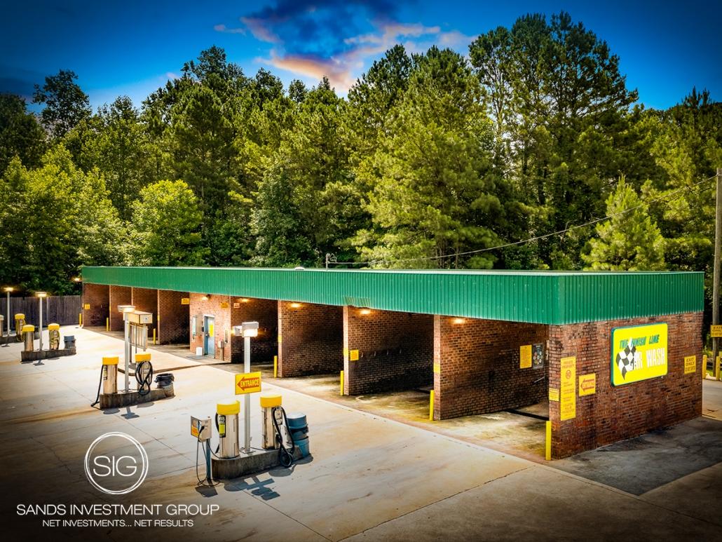 The Finish Line Car Wash   Douglasville, GA